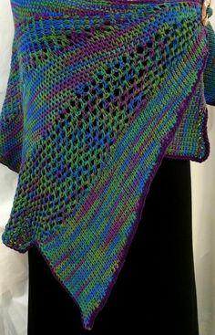 (4) Name: 'Crocheting : Santa Fe Tunisian Crochet Shawl