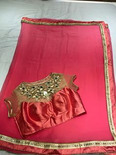 Latest chiffon fancy Saree Collection With Designer Blouse | Buy online Chiffon sarees | Elegant Fashion Wear