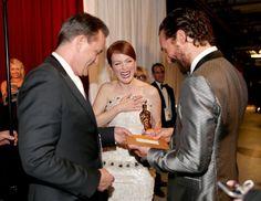 Pin for Later: Diese Bilder gab's nicht im TV zu sehen! Julianne Moore und Matthew McConaughey