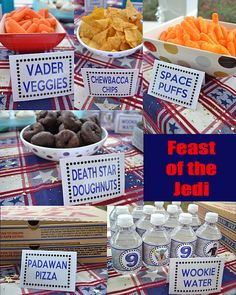 Star Wars Birthday Bash!! Feast of the Jedis