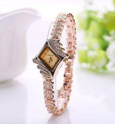 Gold Watch Brand Watch Relojes Women Wristwatch Ladies Watch Clock