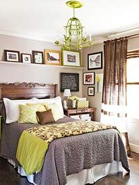 How to Decorate a Small Bedroom, from Better Homes & Gardens