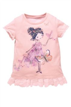 Buy Pink Girl Tunic (3mths-6yrs) from the Next UK online shop