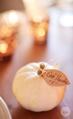 Hosting The Big Meal this year? Make your TDay table extra festive with these six simple Thanksgiving crafts from Hallmark.com. Whether you're out to impress your diners or wrangle early guests into helping decorate, these projects have got you covered!