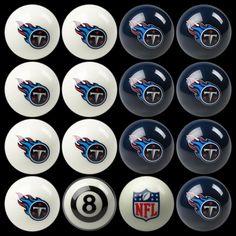 Tennessee Titans Billiard Ball Set