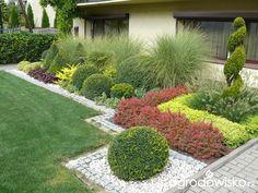 A small but capacious garden;) - page 93 - Garden forum - Garden Front Garden Landscape, Front Yard Landscaping, Landscape Design, Garden Edging, Garden Paths, Small English Garden, Rogers Gardens, Front Gardens, Little Gardens