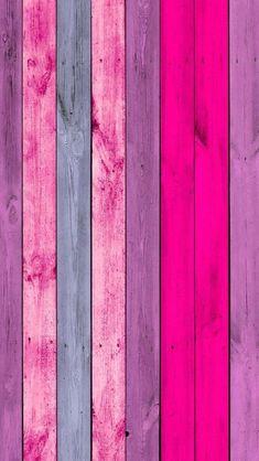 Pink & Purple Wood Planks iPhone Wallpaper by JDuree