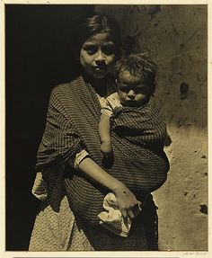 Mother and child of Taxco, Mexico, 1932 (Anton Bruehl) #babywearing #babywearingworldwide #historicalbabywearing