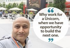 Why work for a unicorn, when you have opportunity to build the next one...