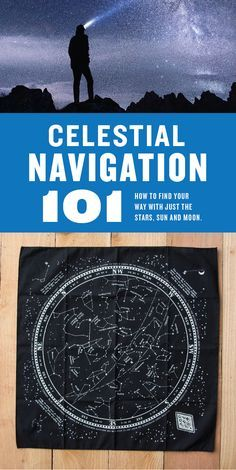 Celestial navigation 101. Learn tips and tricks for determining North, South, East and West with just the sun, moon and stars. Essential survival skill and a good back for modern navigation methods. ColterCoUSA.com
