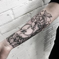Romantic forearm tattoo - 110+ Awesome Forearm Tattoos