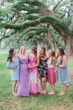 bridesmaid bachelorette picnic party pink dresses photography ava moore photography pink party dresses