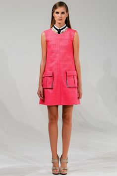 Shift Dress with cargo pockets #inspiration Ostwald Helgason Spring 2013 RTW.