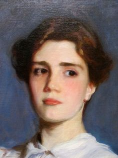 John Singer Sargent (detail) Portrait of Sally Fairchild, 1887. Oil on canvas (1856-1925) Stanford Museum
