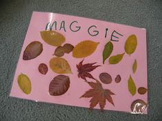 Autumn placemats from Irresistible Ideas
