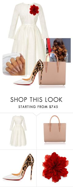 """Consecration Night"" by gibsond935 on Polyvore featuring Brock Collection, Christian Louboutin and Gucci"