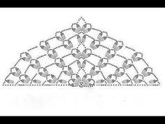 13. Tuch häkeln / Muster / Cloth Scarf - YouTube Crochet Shawl Diagram, Crochet Chart, Easy Crochet, Crochet Lace, Crochet Stitches, Free Crochet, Crochet Scarves, Crochet Clothes, Shawl Patterns