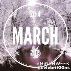 """""""#NinthWeek #February #Febrero #March #Marzo #2015 A partir de vuestros """"Me gusta"""" os dejo, en 15"""", lo que más habéis destacado de la galería, publicado…"""""""