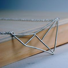 Geometry Necklace, Markhed, $68