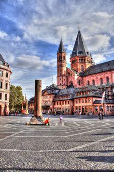 Mainz Cathedral - Mainz - Germany (von Polybert49)