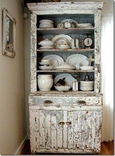 Chippy White Cabinet