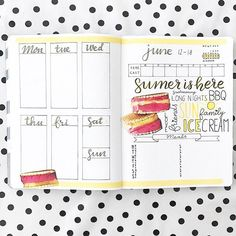 Some fun summer planning from @bulletjournaladventure⠀ ⌲⌲⌲⌲⌲⌲⌲⌲⌲⌲⌲⌲⌲⌲⌲⌲⌲⌲⌲⌲⌲⌲⌲⌲⌲⌲⌲⌲⌲⌲⌲⌲⌲⌲⌲⠀ ⠀ Use #planninginspiration4u for a chance to be featured on this page and check out the website for more planning inspiration! Link is in the bio!⠀⠀⠀⠀ ⠀⠀⠀⠀ #bujojunkie #bulletjournaladdict #bulletjournaladdicts #plannerart #travelersnotebookinsert #prettyplanners #bujolove #bujoinspire #plannermommy #bujoaddict #bulletjournal #bulletjournaling #plannerlove #plannercommunity #planneraddict #plannerart…