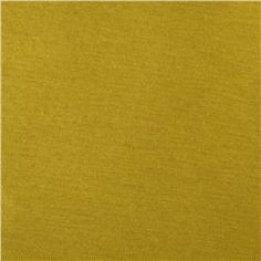 Rayon Jersey Knit Mustard
