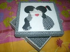 Image result for caixas em patchwork embutido