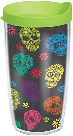 Tervis 16 oz. Day Of The Dead Travel Tumbler