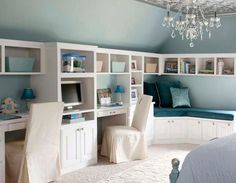 oooh - like the wrap around shelving/and reading nook