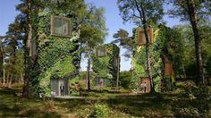 Deze duurzame huizen zijn gemaakt van bomen en bladeren - Roomed | roomed.nl