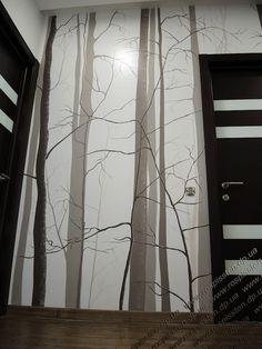 Роспись стен, художественная роспись, рисунки на стенах, картины на стенах - Днепропетровск - Роспись в прихожей 2