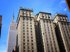 NY Through the Lens - New York City Photography - The Empire State Building and 4 Park Avenue....