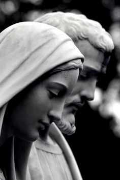 Mary and Joseph ~ beautiful models for a holy marriage