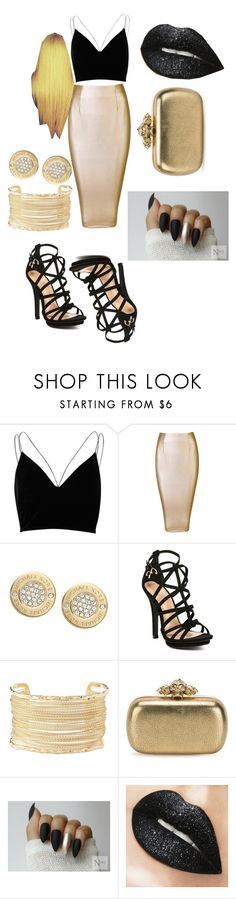 """""""Bored af 🙄"""" by maexox123 ❤ liked on Polyvore featuring River Island, Michael Kors, Charlotte Russe and Alexander McQueen"""