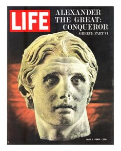 Bust of Alexander the Great, May 3, 1963 by Dmitri Kessel