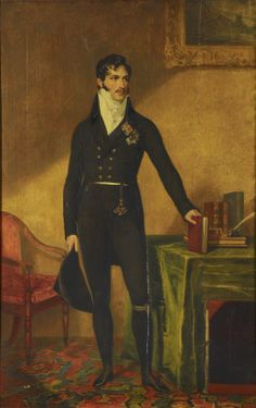 cimetiere-chanson: Leopold of Saxe-Coburg-Saalfeld, future King of Belgians - after George Dawe (1816-1817)