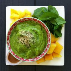 Mango and Pineapple Green Smoothie Bowl - Simple Green Smoothies