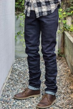 Naked and Famous raw denim
