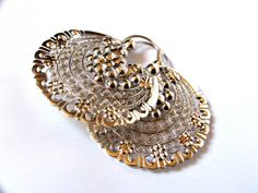 Arracada earrings from Jerez, Zacatecas, Mexico