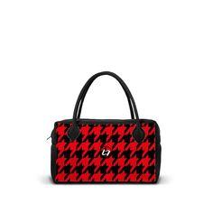 NEOM-GR-PP-RED - Borsa 24h in neoprene con zip. - una borsa realizzata da LOOMLOOM - made in Italy.