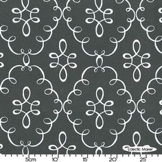 Michael Miller Fabric Doodle Damask in Gray Michael Miller Fabric Doodle Damask in Gray for patchwork quilting and dressmaking from Eclectic Maker [CX5933_GRAY] : Patchwork, quilting and dressmaking fabric, patterns, haberdashery and notions from Fabric for Patchwork, Quilting and Dressmaking from Eclectic Maker