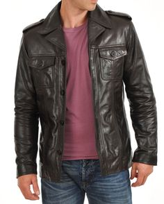 b11e5c68f 20 Best Black leather jackets images