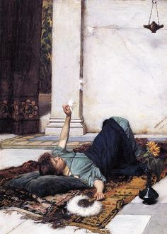 Dolce Far Niente - John William Waterhouse, 1879