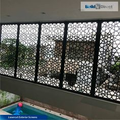 BuildDirect Africa - Africa's First and Biggest Laser Cut Building Addition Manufacturer Build Direct, Decorative Screen Panels, Building An Addition, Laser Cut Panels, Exterior Cladding, Steel Panels, Formal Gardens, Building Facade, Laser Cutting