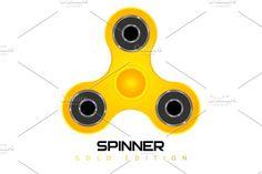 children's toy - SPINNER by pashigorov on @creativemarket