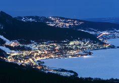 to ski in sweden