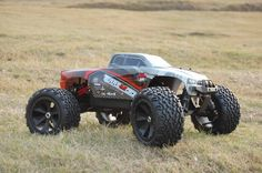 RedCat Racing Terremoto V2 1/8 Scale Brushless Electric Monster Truck - Red