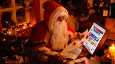 Wallpaper santa claus, new year, gifts<br>