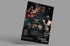 Fitness Flyer by designsoul14 on @creativemarket
